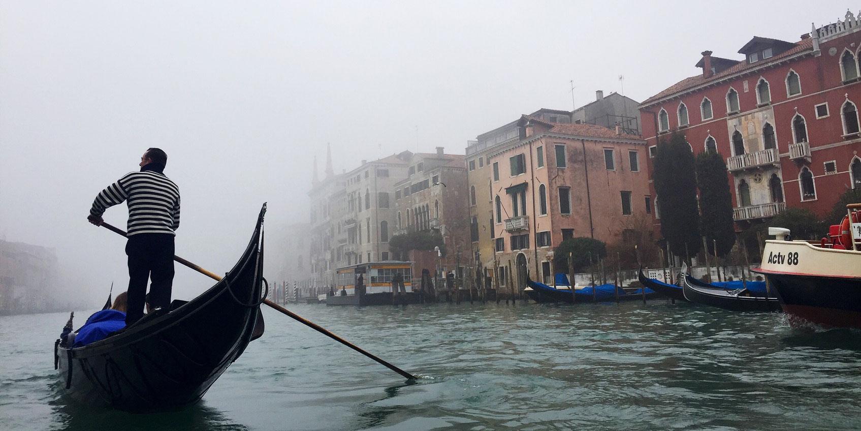 Gondola by Elisa Elvove, Venice, Italy