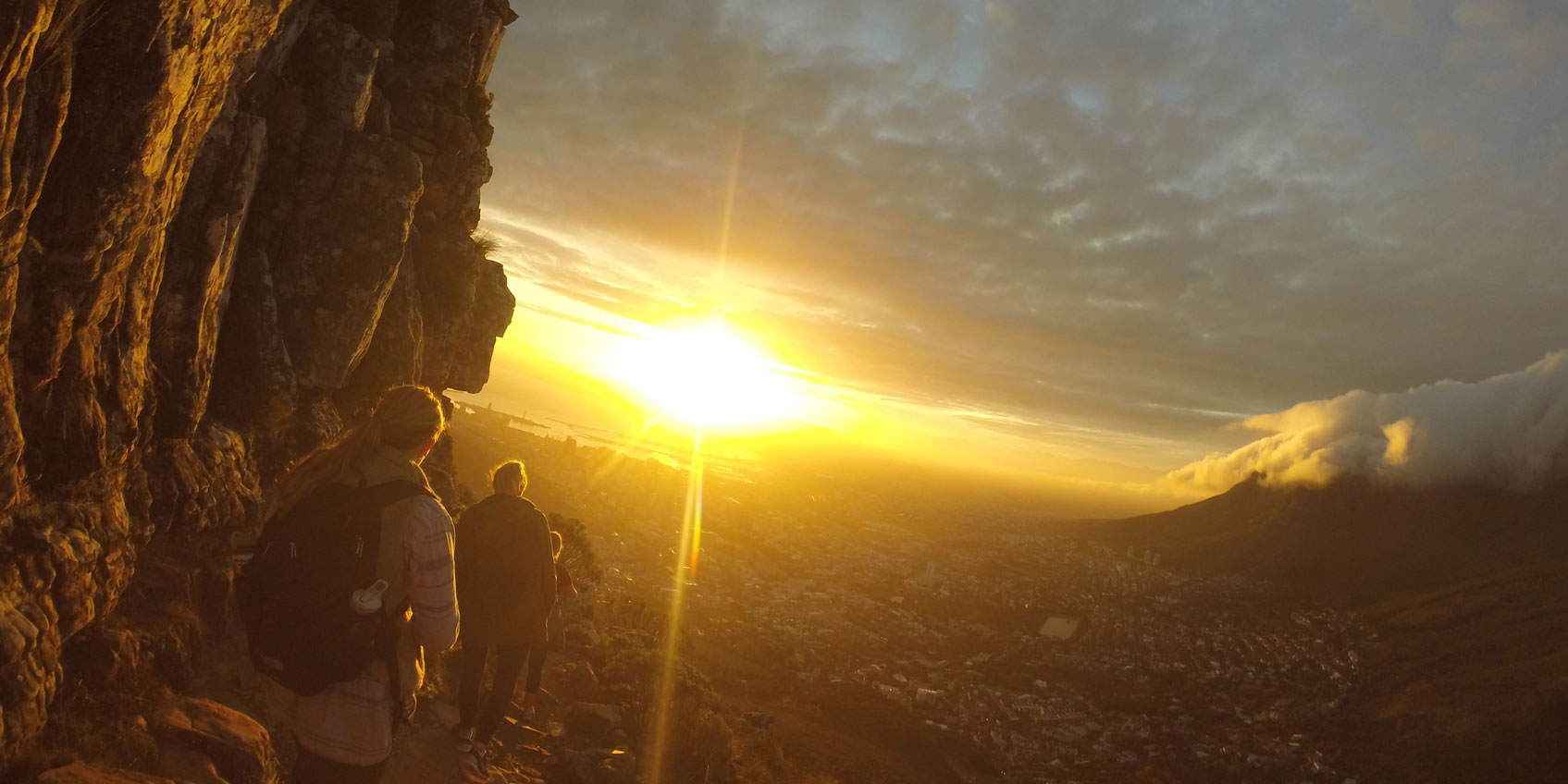 Sunrise Hike by Brea Graber, Cape Town, South Africa
